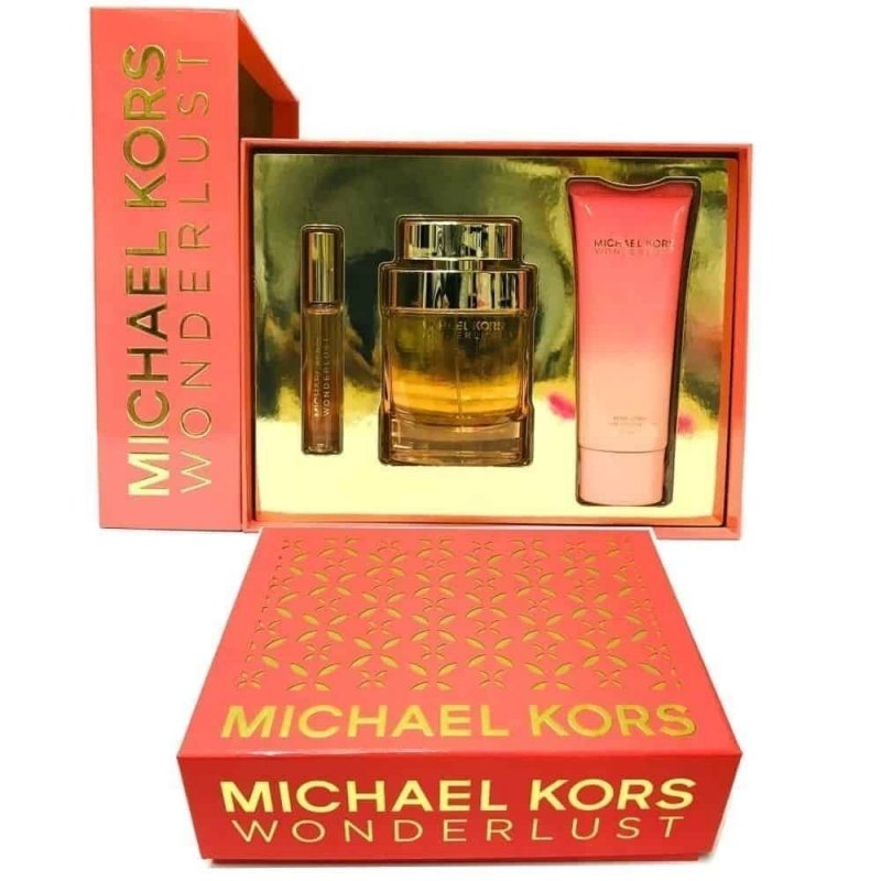 Michael Kors Wonderlust 100Ml Set 3Pcs