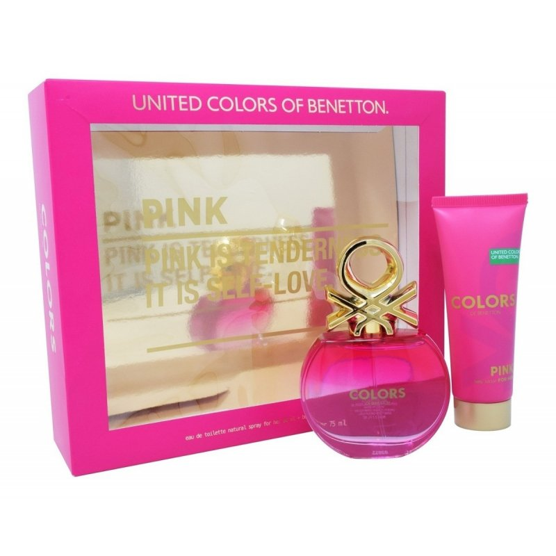 Benetton Colors Pink 80ml Mas Body Lotion