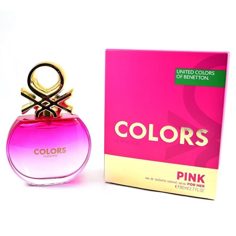 Benetton Colors Pink 80Ml