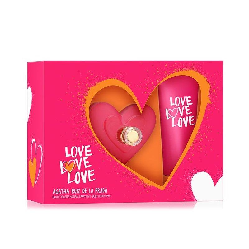 Agatha Love Love Love 80Ml Set Mas Bl 75Ml