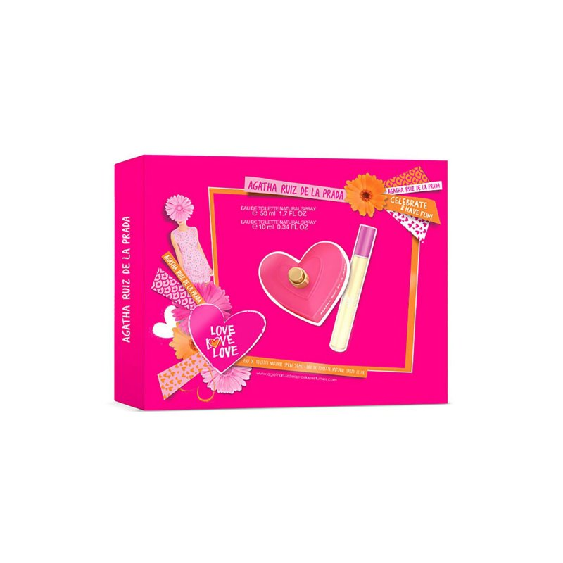 Agatha Love Love Love 50ml Set Mas 10 Ml