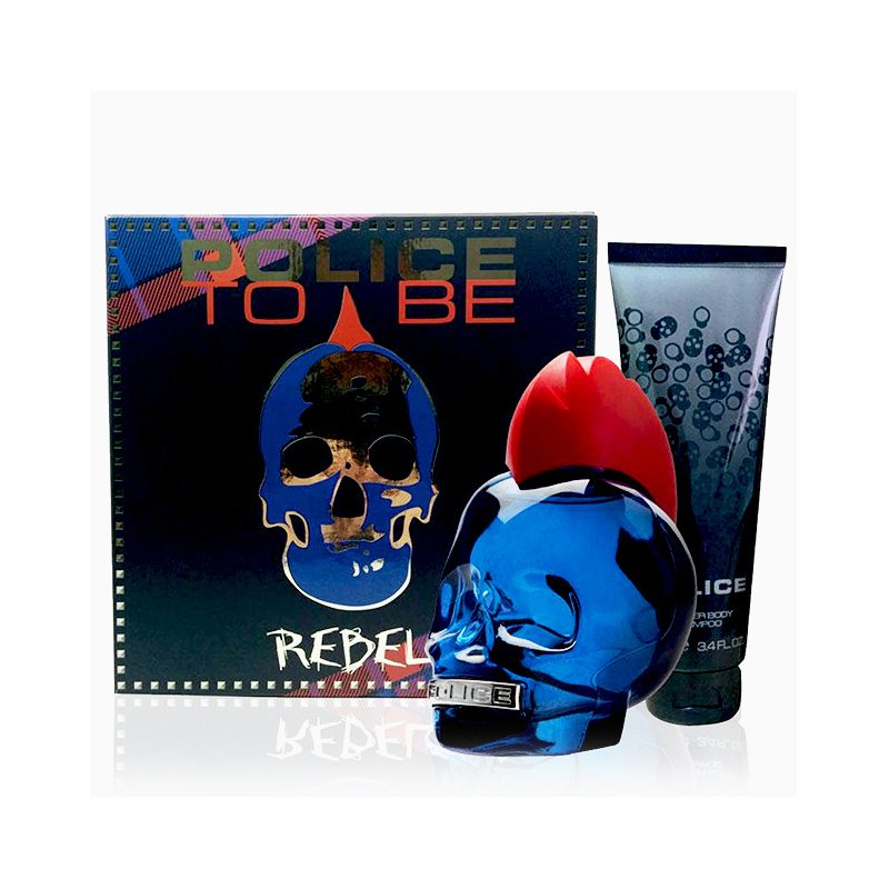 Police To Be Rebel 75Ml Set
