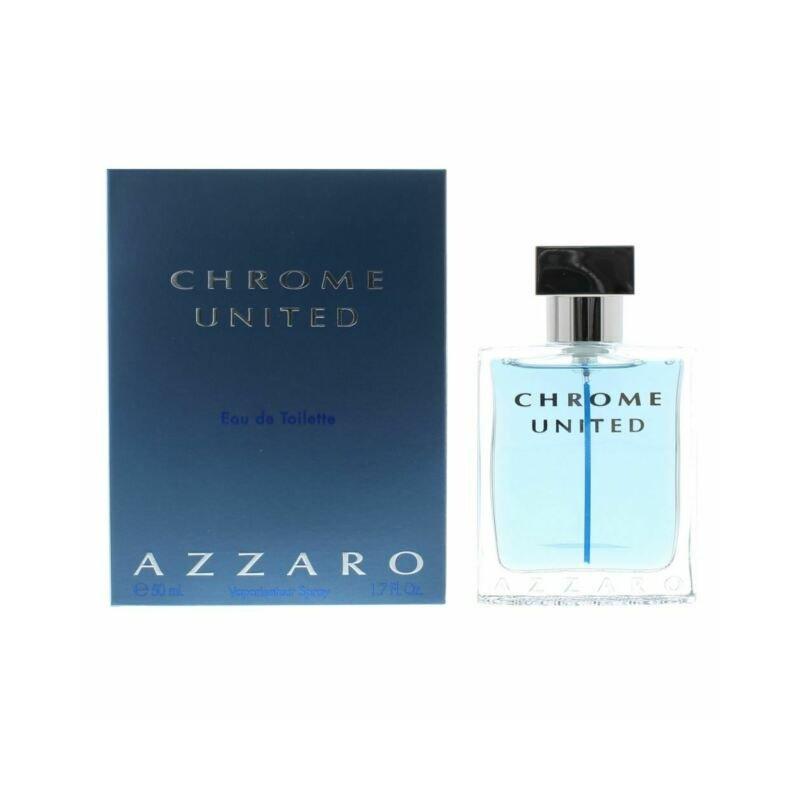 Azzaro Chrome United Edt Spray 50 Ml