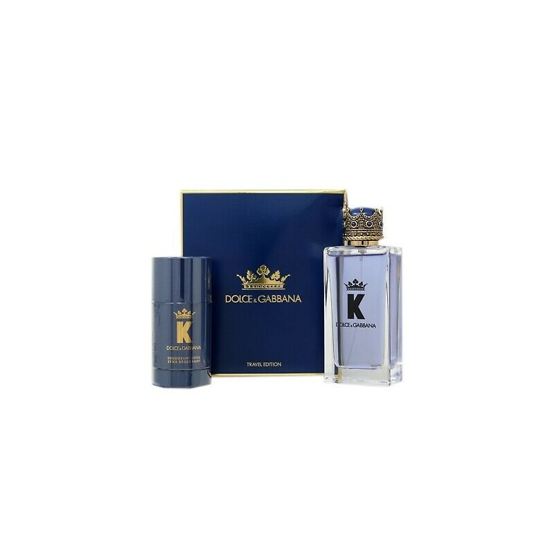 Dolce Gabbana King Edt 100Ml+75Ml Deo Travel Set