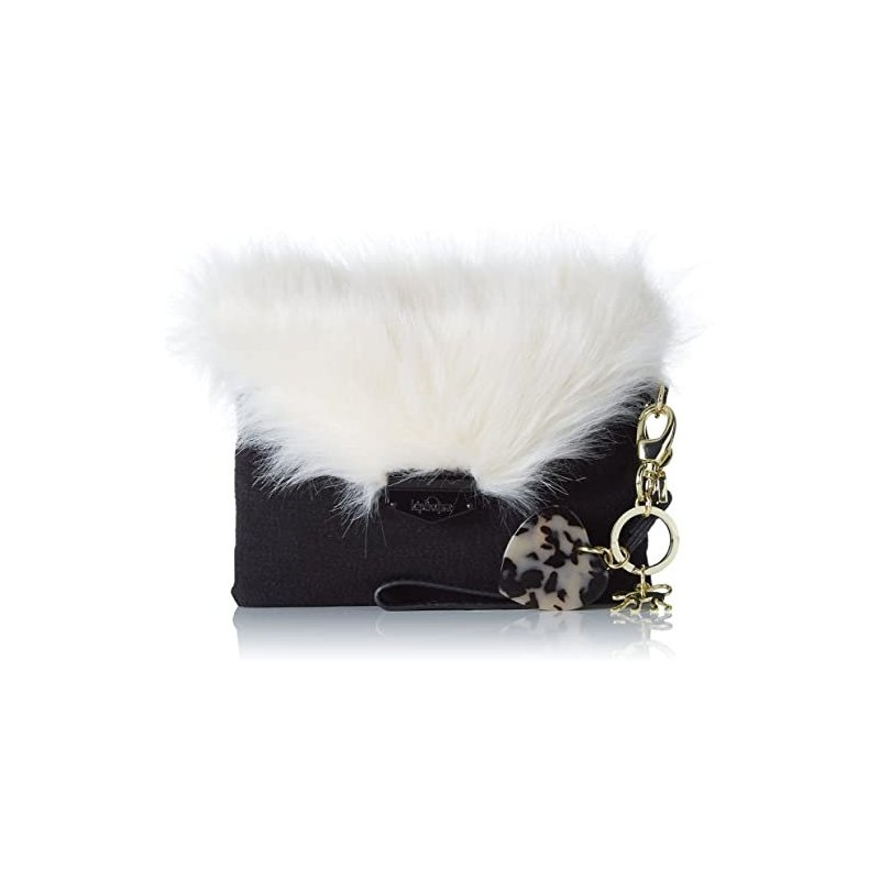 Kipling Furry Phaenna Black
