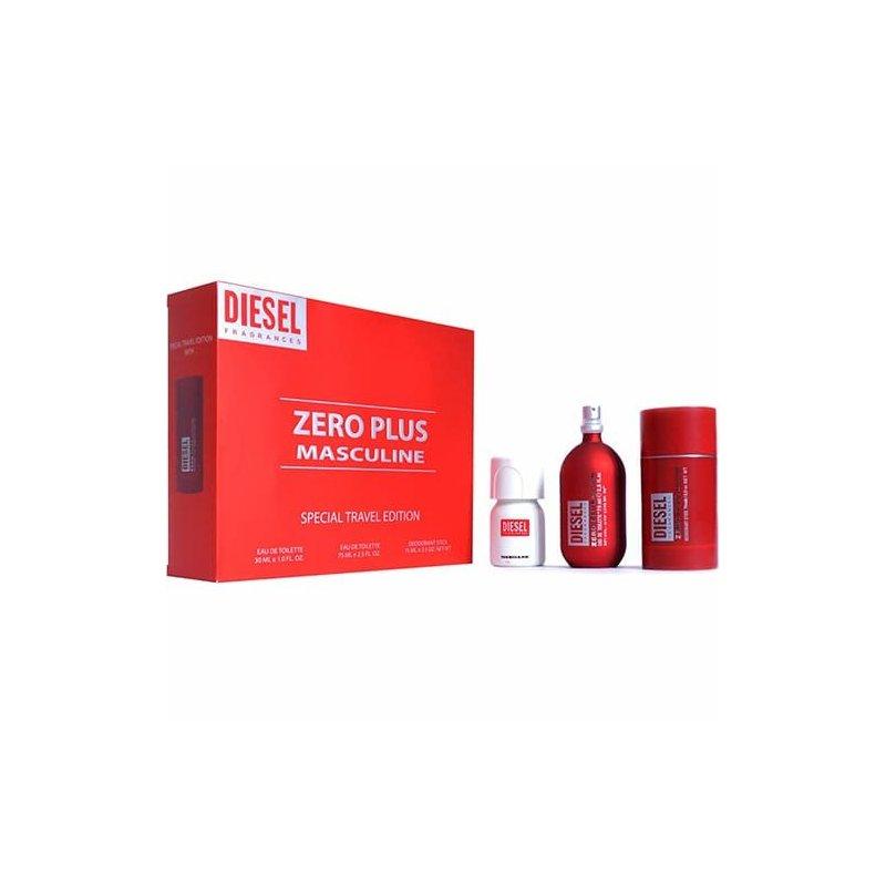 Diesel Zero Plus 75Ml Varon Set